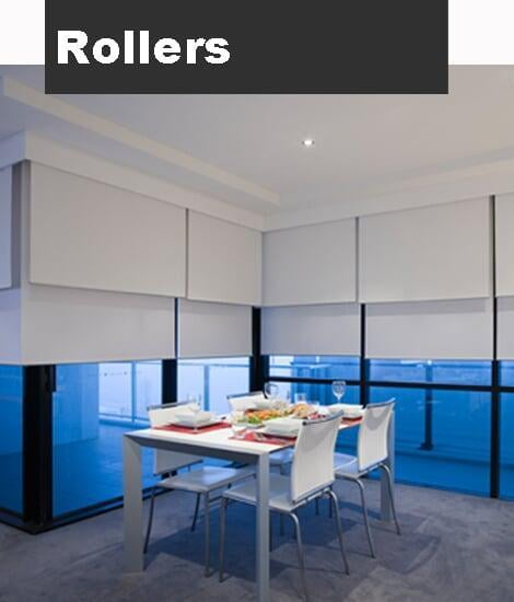 SCROLL FOR MORE PHOTOS OF ROLLER BLINDS